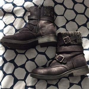Candies black boots